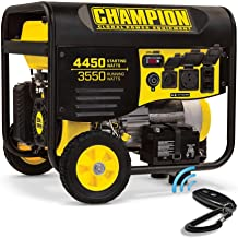 Champion Power Equipment Portable Generator with Electric Start (100433 3550-Watt)