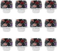 Glazen knoppen Knoppen voor keukenkasten Mooie Leuke Clear Glass Cabinet Ronde Lade Trekt met Schroeven voor Keuken, dress...