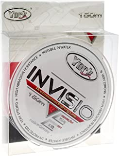 bobina de 150/m con revestimiento de fluorocarbono Sedal de pesca de York Invisio 0,14-0,40/mm 0,35mm//23kg monofilamento