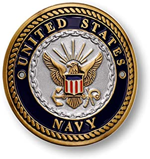 U.S. Navy Hiking Stick Medallion