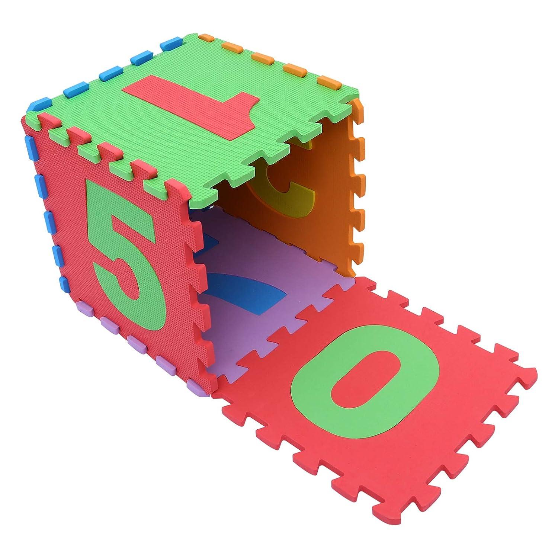 67% OFF of fixed price Kisangel 10pcs Bombing new work Kids Foam Puzzle Exercise Mat Children Play Floor