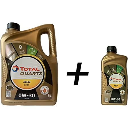 Total Quartz Ineo First 0w 30 Engine Oil 6 Litres Auto