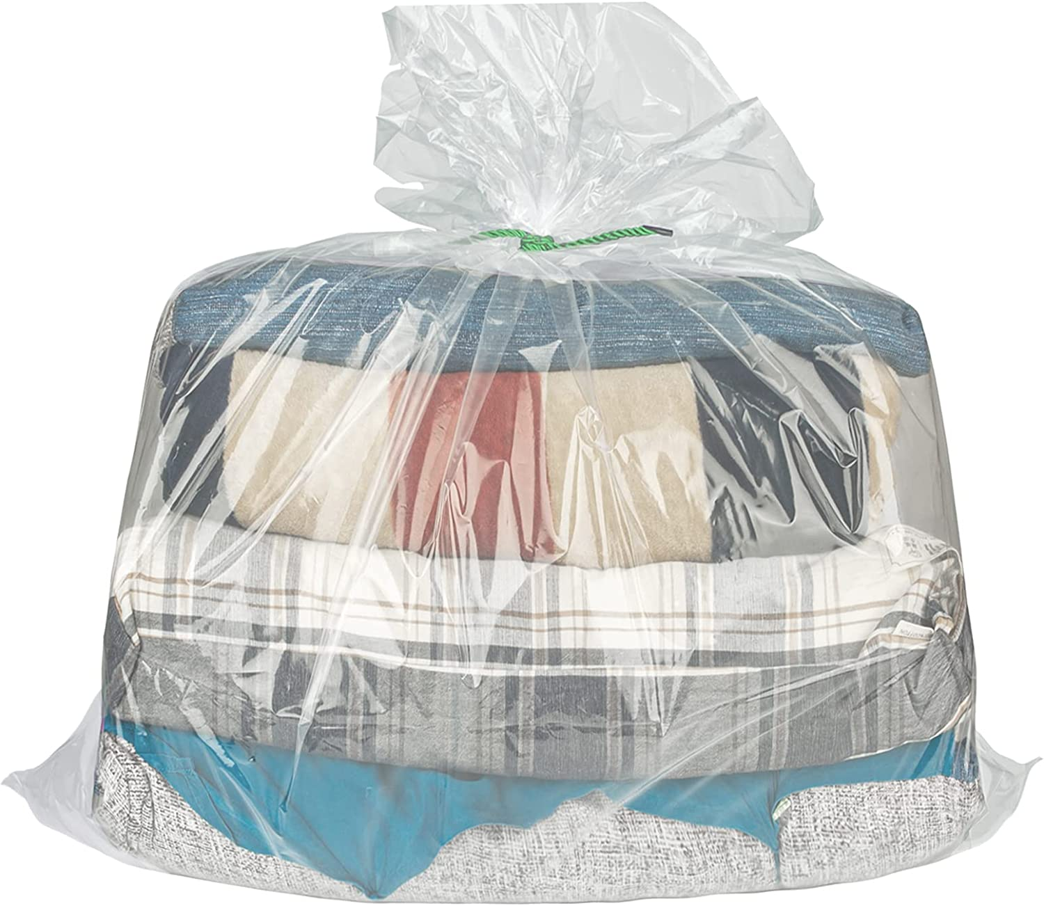 Overmonup 31x39 inches Surprise price Save money clear plastic perfect storage bags du for