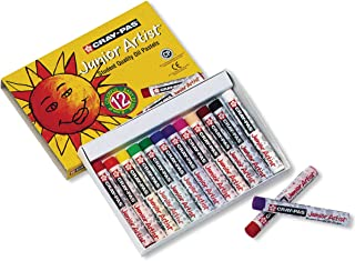 Sakura Cray-Pas Junior Artist Oil Pastels, Assorted...