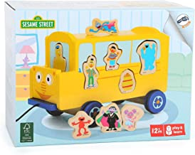 Small Foot The Furchester Hotel Play and Learn Pull Along School Bus Sorting Puzzle