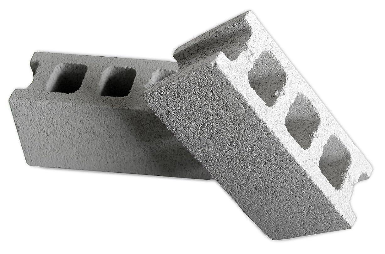 日居住者人生を作る久保田セメント工業 コンクリートブロック チービー ヨコ グレー 4個入り 1007520GRY(4P)