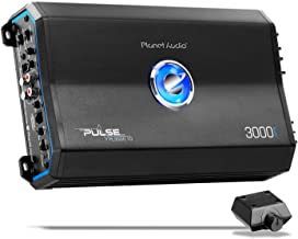 Planet Audio PL3000.1D Class D Car Amplifier - 3000 Watts, 1 Ohm Stable, Digital, Monoblock, Mosfet Power Supply, Great for Subwoofers
