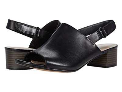 Clarks Elisa Lyndsey (Black Leather) Women