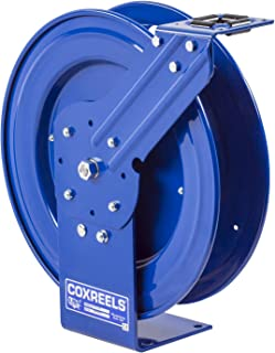 Coxreels P-LPL-350 Low Pressure Retractable Air/Water/Oil Hose Reel: 3/8