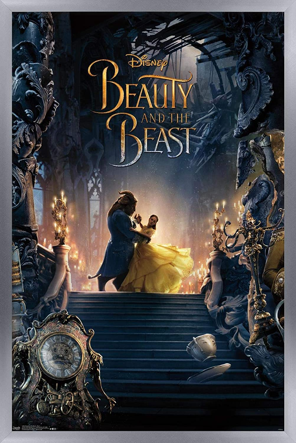 Trends International Disney Beauty and quality assurance The Beast Triptych 2 - Wa 70% OFF Outlet