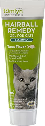 TOMLYN Laxatone Hairball Remedy Gel for Cats