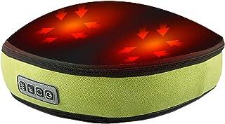 مدلك القدم مع الحرارة - عجن عميق، مدلك شياتسو عجن ديلوكس 3 مستويات قابلة للتعديل، مناسبة للمنزل والاستخدام متعدد المواقع ،...