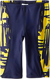 (22, Navy/Gold) - Speedo Big Boys' Boy's Must Be It Jammer Swimsuit
