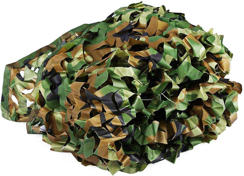 AI LI WEI Mehrzweck-Sonnenschutz-Tarnnetz Dschungel-Modus Tarnnetz Dekoration Sonnencreme Net Outdoor Camping versteckt Wald Sonnenschutz Fotografie Multi-Größe optional (Gre  3  4m) Plane