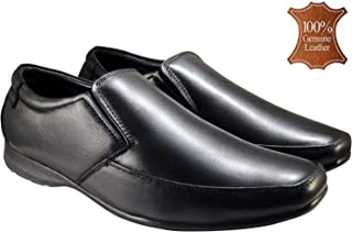 ACTION Synergy Men's Comfort Genuine Leather Formal Shoes G1501 Black
