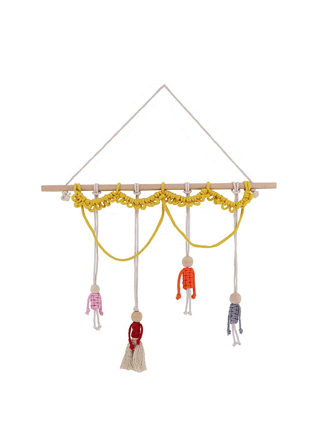 Dancivi Handmade Macrame woven Family Wall New products, world's highest quality popular! x 23.6