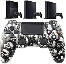 $53 » LIMIAO PS4 Controller, Detroit Playstation 4 Vibration Bluetooth Game Board 360 Spiral Instrument Controller, Wireless Joy...