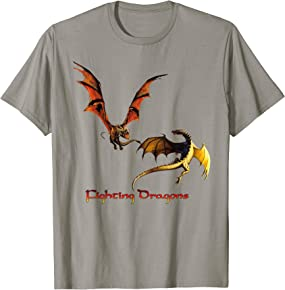 Fighting Dragons T-shirt