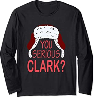Funny Christmas Holiday Movie You Serious Clark Sweater