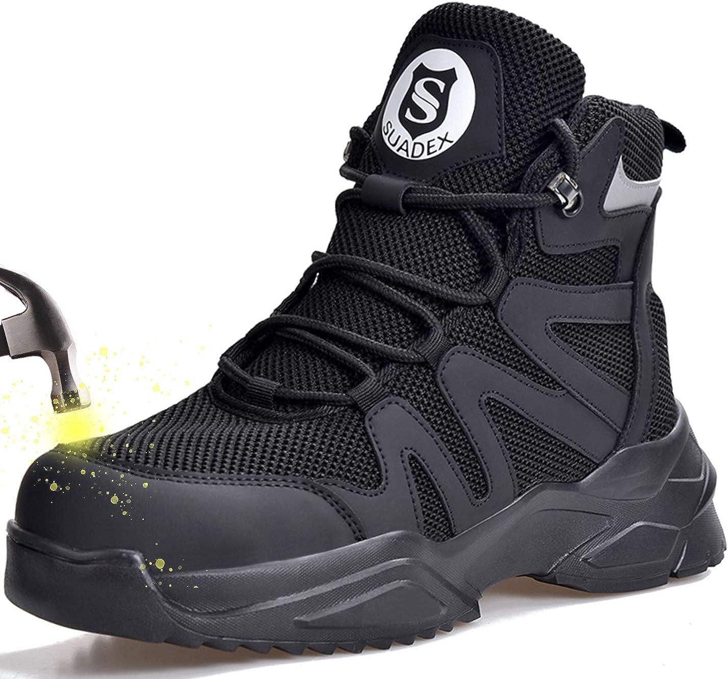 Ranking TOP7 SUADEX Steel Max 55% OFF Toe Boots for Indestructible Men Women S Work
