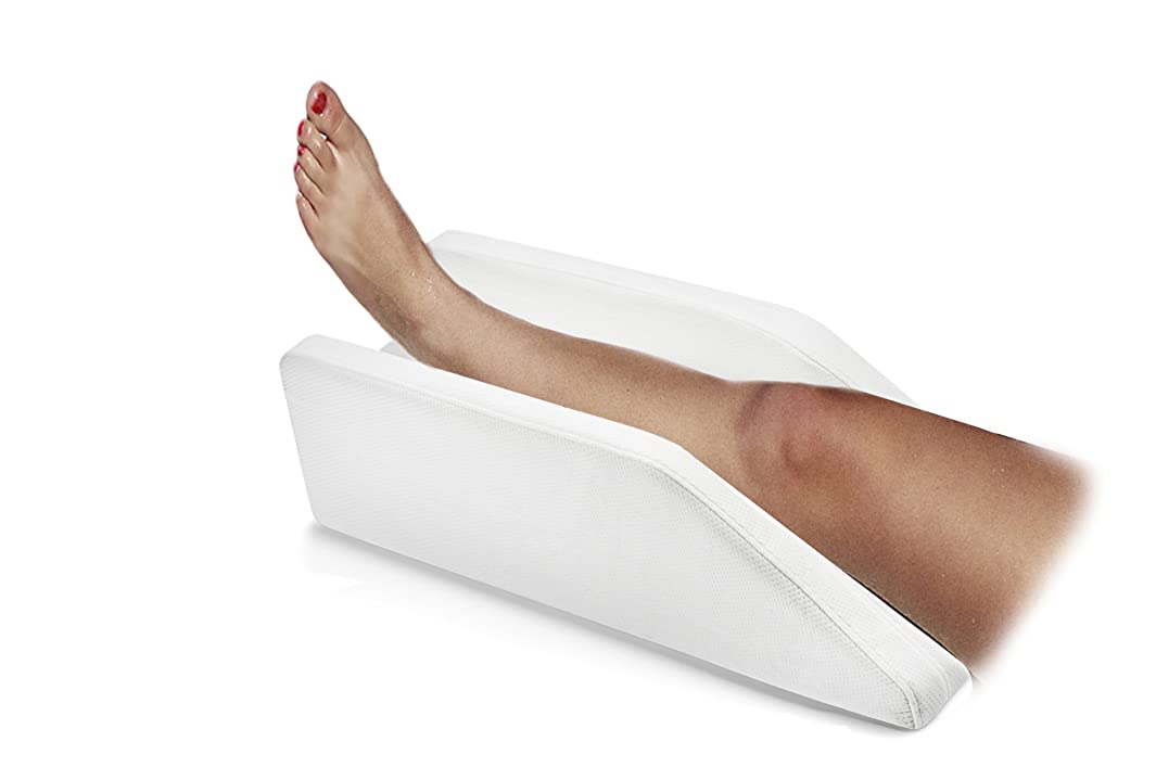 Pure Comfort - Adjustable Leg, Knee, Ankle Support and Elevation Pillow | Surgery | Injury | Rest | (Standard)