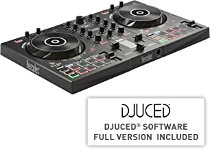 Hercules DJControl Inpulse 300 | 2 Channel USB Controller, with Beatmatch Guide, DJ Academy and full DJ software DJUCED in...