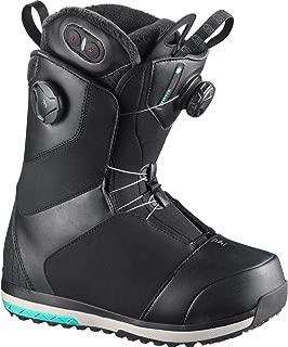 Kiana Toast Focus Boa Snowboard Boot - Women's Black, 7.5