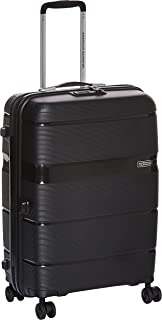 American Tourister Linex Hardside Spinner Luggage 66cm with tsa lock - Black