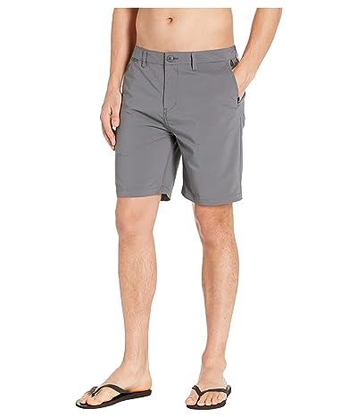 Quiksilver Union Dry Twill Amphibian 19 Shorts (Iron Gate) Men