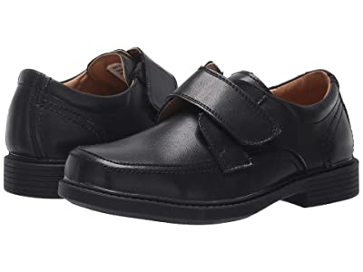 Florsheim Kids Berwyn Jr. II (Toddler/Little Kid/Big Kid) (Black Smooth Leather) Boy
