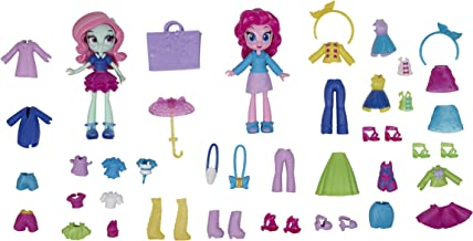 My Little Pony Equestria Girls Fashion Squad Pinkie Pie and Minty Mini Doll Set -- 2 Toy Dolls and Over 40 Fashion Accesso...