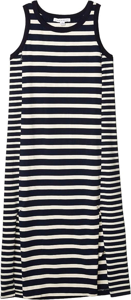 Blue/White Stripes