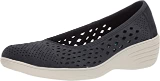 Skechers Women's Kiss-Shifty-Laser Cut Skimmer Ballet Flat