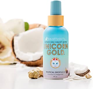 4 Fl Oz Squatty Potty Unicorn Gold Toilet Spray, Tropical Dropsicle Squatty Potty Unicorn Gold Toilet Spray, Tropical Dropsicle