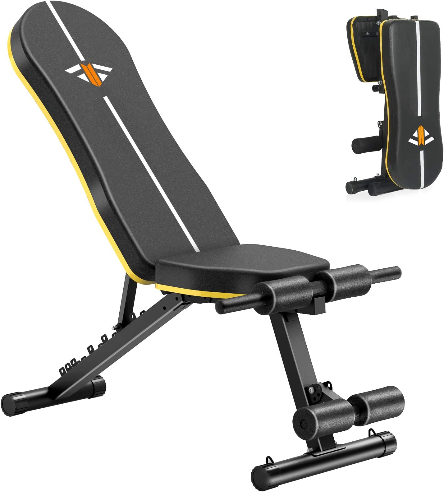 Details about  /Adjustable Weight Bench Incline Decline Foldable Strength Gym Training Workout