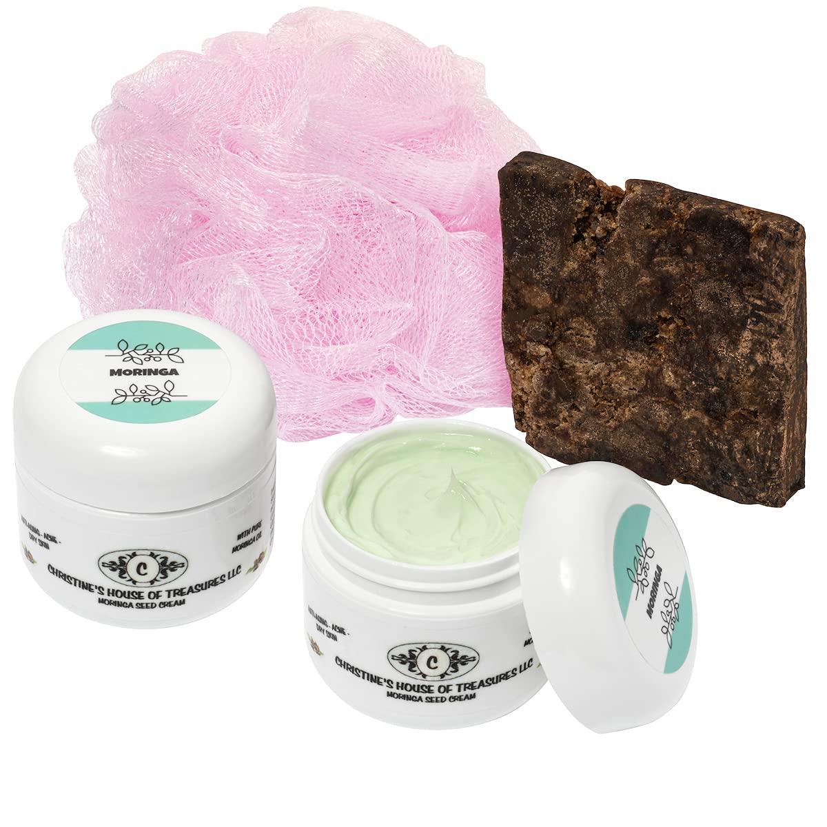 Moringa Oleifera Cream Set of Two; Branded goods Anti Aging Face P Best Cream; Long Beach Mall