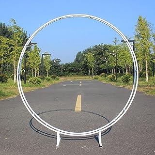 DXDUI Arche arrière-Plan Rond Bague arcs Accessoires de Mariage Cercle de Fer Fleur Ballon décor pelouse soik Rond ronchon...