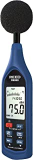 REED Instruments R8080 Sound Level Meter, Datalogger with Bargraph, 30 to 130 dB