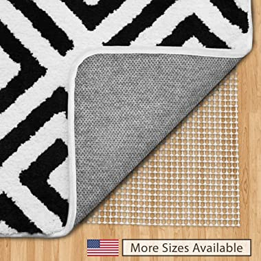 Gorilla Grip Original Area Rug Gripper Pad, 7x10, Made in USA, for Hard Floors, Pads Available in Many Sizes, Provides Protection and Cushion for Area Rugs and Floors