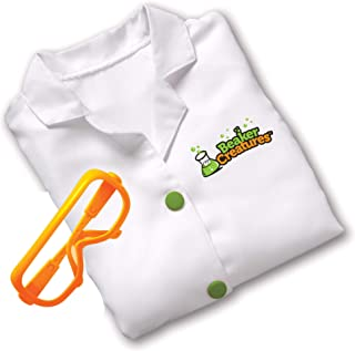 Learning Resources Beaker Creatures Lab Gear, Scientist Lab Coat & Glasses for Kids, Stem Certified, Ages 5+
