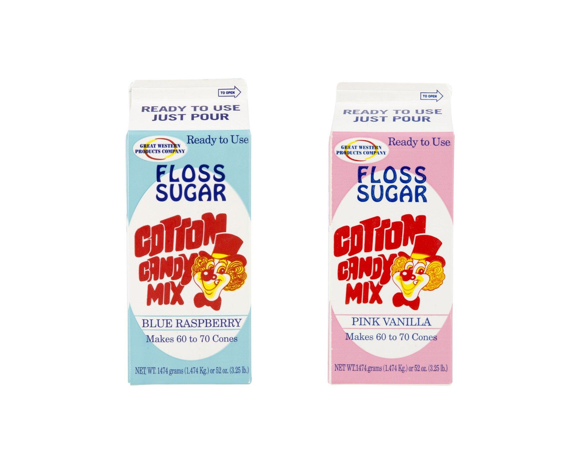 Pink Vanilla-1ct Cotton Candy... Concession Essentials CE Floss Sugar