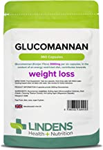 Lindens Glucomannan Konjac Fibre 500mg Capsules 360 Pack Weight Loss aid contributing Towards The Reduction of Appetite That is Lindens 1 Weight Loss Supplement Estimated Price : £ 27,99