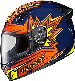 Joe Rocket R1000X Blaster Full-Face Motorcycle Helmet (MC-2, Small)