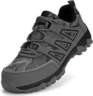 Ucayali Zapatillas de Seguridad Hombres con Punta de Acero Reflectivo Transpirable, 39-46 EU