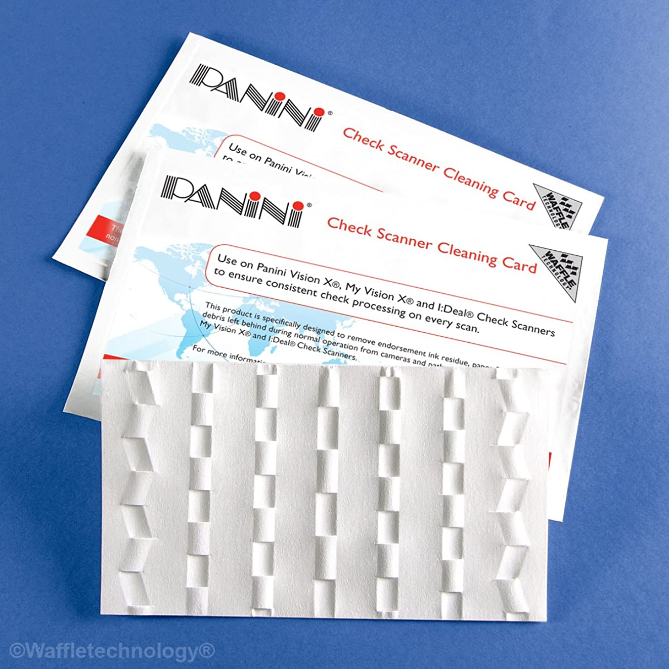 Panini Check Scanner Cleaning Cards (30)