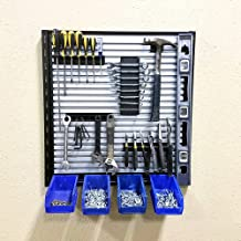 QWD Tool Wall - 2ft Hand Tool Slat Wall System with Hardware