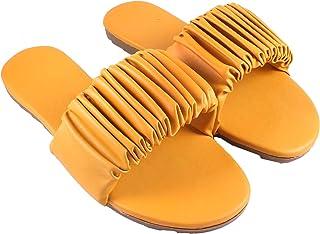 Santo Collection Women's Slip on Casual Flat Sandal Fashion