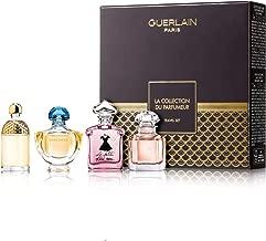Guerlain Miniature Collection 4-Piece Set for Women (Shalimar, Mon Guerlain, Le Petite Robe Noire, Aqua Allegoria Mandrine Basilic)