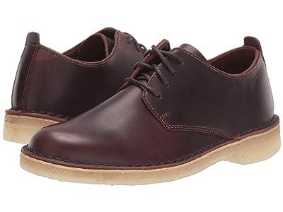 Clarks Desert London (Chestnut Leather) Women