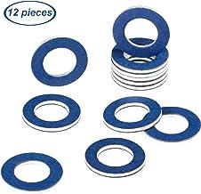 12 Pieces Oil Drain Plug Gasket Crush Washer Seals Part 90430-12031 for Toyota Prius Tundra Sienna Highlander Lexus Avalon Camry Corolla Tacoma 4Runner RAV4